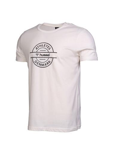 Hummel Erkek Tişört Swann 911034-9003 Beyaz